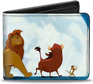 Buckle-Down 男式对折钱包 狮子王