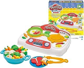 Play-Doh 厨房系列玩具 滋滋作响的炉灶 小麦粉粘土 B9014
