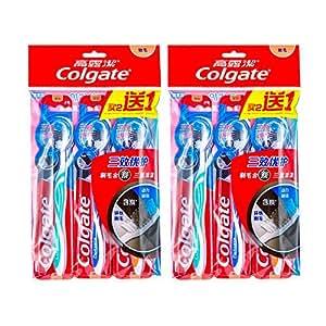 Colgate 高露洁 三效优护牙刷×6 (三重清洁 软毛 特惠装)