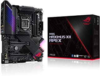 ASUS 华硕 ROG Maximus XII Apex ( WiFi 6 ) Z490 LGA 1200 ( Intel * 10 代 ) ATX 游戏主板(16 个电源阶段,DDR4 5000,Intel 2.5Gb LAN,DIMM.2,USB 3.2 Gen 2 和 Aura Sync RGB )