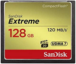 SanDisk 闪迪 Extreme 120MB/s UDMA 7 袖珍闪存卡 存储卡 - Parent AsinSDCFXS-128G-FFP 128GB