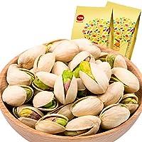 BE&CHEERY 百草味 开心果200gx2袋(美国 无漂白 食品 特产 坚果 炒货)