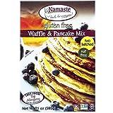Namaste Foods 无麸质华夫饼和煎饼粉,21 盎司(约 595.3 克)袋(6 件装)