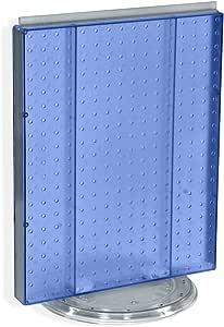 Azar Pegboard Counter Display,半透明钉板 700500-BLU
