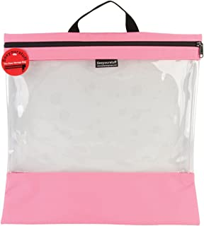 Lyle SYSB4-PINK See Your Stuff Clear 储物袋,16 x 16 英寸,粉色