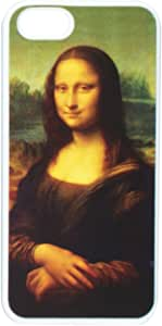 Graphics and More Mona Lisa Painting by Leonardo Da Vinci - Snap-On Hard Protective Case for Apple iPhone 5/5s - Non-Retail Packaging - White