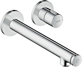 Hansgrohe 汉斯格雅 Axor Uno Select 洗手台搅拌机,暗装,墙面安装,镀铬 铬 Auslauflänge 165mm 45112000