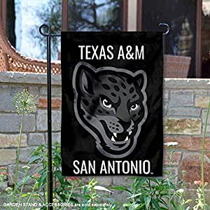College Flags and Banners Co. Texas A&M San Antonio Jaguars 花园旗帜