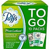 Puffs Plus 乳液旅行装口袋面巾,每包 10 张纸巾(10 件可装)