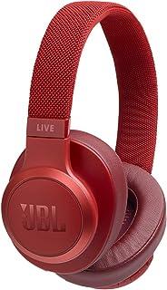JBL Live 500BT 无线头戴式耳机带语音控制JBLLIVE500BTREDAM 均码