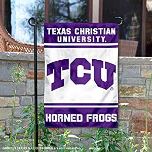 College Flags and Banners Co. Texas Christian Horned Frogs 花园旗帜