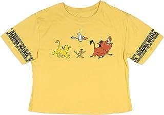 Disney 狮子王 Simba Hakuna Matata 青少年露脐上衣 T 恤
