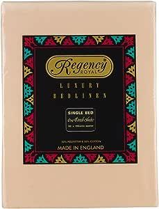 Regency 皇家单件床笠 - 父级 沙色 single 7042SBFTSA