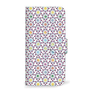 MITAS 翻盖式智能手机壳 水彩 金平糖 紫色 31_URBANO L02 (KYY22)