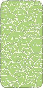 智能手机壳 透明 印刷 对应全部机型 cw-266top 套 猫 猫 CAT UV印刷 壳WN-PR416794 ARROWS M03 图案D