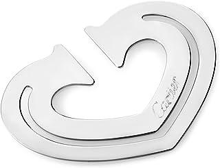 Cartier 不锈钢心形书签 T1220265