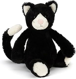 """Jellycat 黑白猫 Medium - 12"""" 黑白色"""