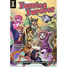 Furries Furever: Draw and Color Anthro Characters in a Variety of Styles (English Edition)