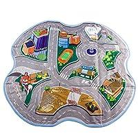 deAO 儿童路线图游戏毯和玩具收纳盒 2合1(可转换套装)