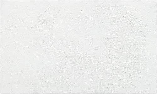 M+home *沙客 洗手间系列・浴室垫 白色 白色 約60×100cm 32798