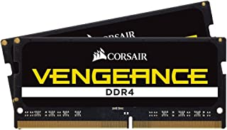 Corsair Memory Kit DDR4 2400MHz CL16 Unbuffered SODIMM Memory CMSX8GX4M2A2400C16