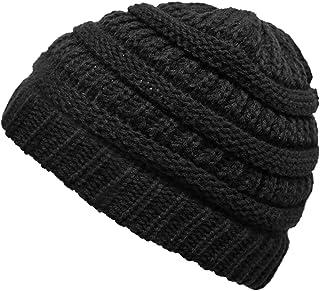 Funky Junque CC 儿童婴幼儿罗纹针织儿童冬季帽子无檐小便帽