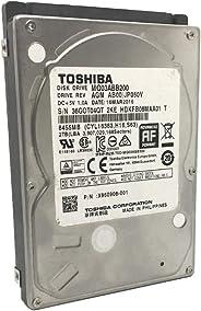 Toshiba 东芝 MQ03ABB200 2TB 5400RPM 16MB缓存SATA 6.0Gb/s 2.5in (15mm) 移动硬盘 - 3年保修