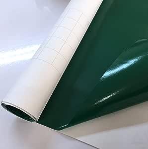 永久性粘合乙烯基适用于十字架、剪影、亮片、工艺 ROBO、QuicKutz、工艺切割器、模切器、标尺 深绿色 vlm-1807