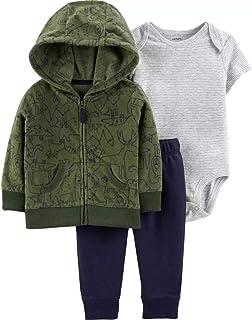 Carter ' s 婴儿男孩3件套开衫套装(婴儿)–*蓝