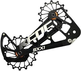 KCNC SXX1 MTB 自行车超大皮带轮笼 OSPW 适用于 SRAM Eagle,黑色,SK1956