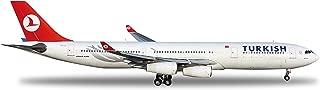 Daron Herpa 土耳其 A340-300 Reg#Tc-Jii 模型套件(1/200 比例)