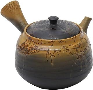 Yamakiikai 白山黄泥藻挂窑变 茶壶