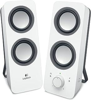 Logitech 2.0 PC - 扬声器 白色 weiss