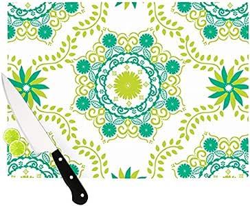 "Kess InHouse Anneline Sophia""Let's Dance Green""砧板,29.21 x 40.5 厘米,绿色"