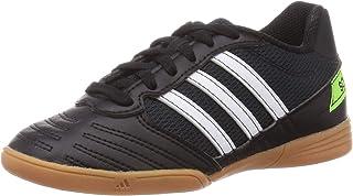 adidas 阿迪达斯中性款儿童*沙拉 J 足球鞋,*(核心黑色/FTWR白色/太阳*),2 英码