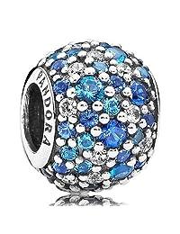 Pandora 潘多拉 银蓝色串珠 791261NSBMX(丹麦品牌 )