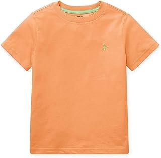 RALPH LAUREN 小男孩 Polo 圆领 T 恤纯色