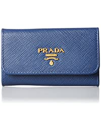 Prada 普拉达 6 连 皮质 钥匙包 1PG222S/ME