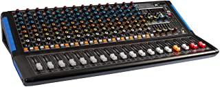 K KG-16B - 16 声道混音器,带内置效果,2 个 Aux,7 频道主等,蓝牙和 Mp3 播放器