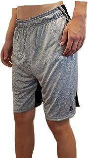 Reebok 男士抽绳短裤 - 运动跑步和锻炼短裤
