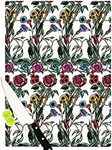 "Kess InHouse DLKG 设计""Margare""切割板,多色 多种颜色 11.5 by 8.25-Inch DG1009ACB01"