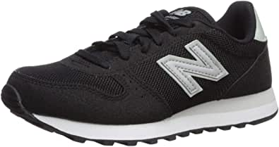 New Balance 女士 311v1 运动鞋 Black/Mint Cream 6 M US