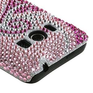 MyBat HTCEVO4GHPCFSDM005NP Hybrid Fusion Bling Protective Case for HTC EVO 4G - 1 Pack - Retail Packaging - Phoenix Tail