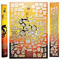 Scratch Off 海报 Mymap Extremeposter 16x24