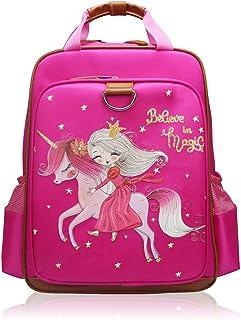 女孩背包独角兽 38.10 厘米 | 粉色儿童书包 适用于幼儿园或小学 Pink Princess One_Size