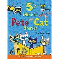 (进口原版) 皮特猫 5分钟阅读小故事 Pete the Cat - Includes 12 Groovy Stories!