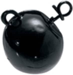 Mustad Fastach 足球头,4 盎司钓鱼终端渔具(2 包),绿色南瓜色,34 码