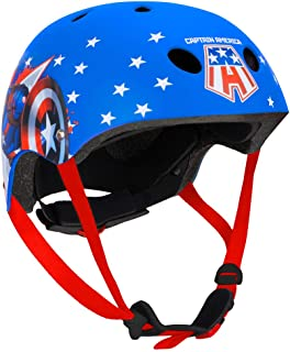 Disney 迪士尼 9051 CAPTAIN 美国运动头盔 多色 430 克