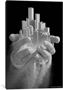 iCanvasART TBY28 Urban Offering Canvas Print by Thomas Barbey, 12 by 8-Inch, 0.75-Inch Deep