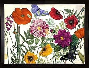 Frame USA Printemps I 镶框印刷品 68.58cm x 91.44cm 由 Color Bakeryy,27x36,咖啡色浓咖啡色